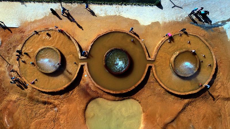 Pamukkale'ye kardeş geldi; Altınkale Kaplıcaları