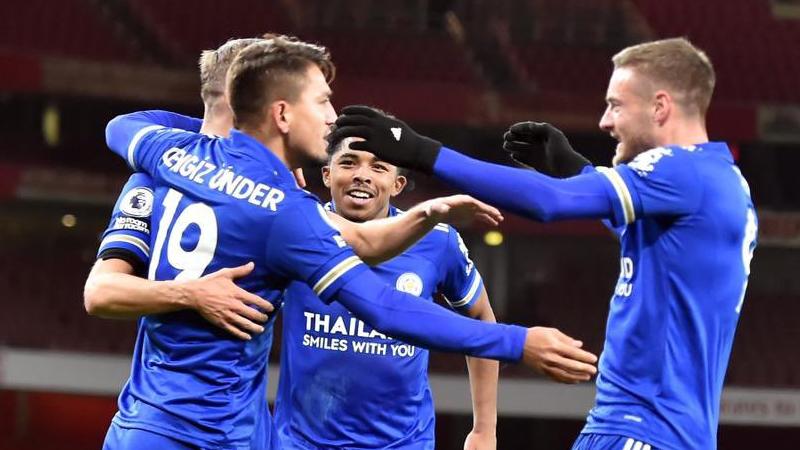 Cengiz Ünder'in asistiyle Leicester City, 46 yıl sonra Arsenal'i  deplasmanda yendi