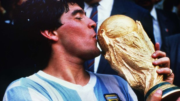 Diego Maradona: Arjantin'in sorunlu futbol dâhisi