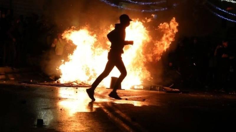 Doğu Kudüs'te Filistinliler ve aşırı sağcı gruplar karşı karşıya geldi: 100'den fazla yaralı