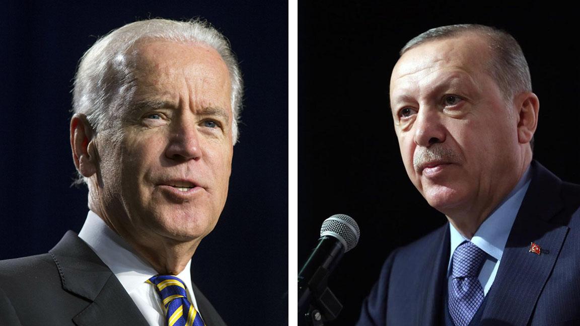 ABD Başkanı Biden, göreve başladıktan üç ay sonra Erdoğan'la görüştü