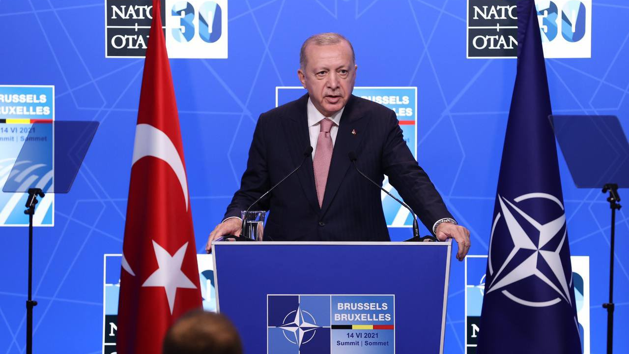 Recep Tayyip Erdoğan NATO