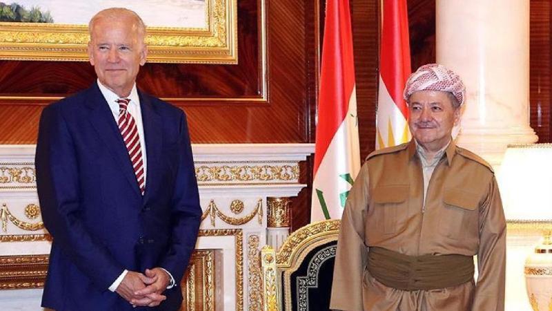 """Mesud Barzani: Biden bana 2015'te """"Ömrümüz Kürdistan'ın bağımsızlığı görmeye yetecek"""" dedi"""