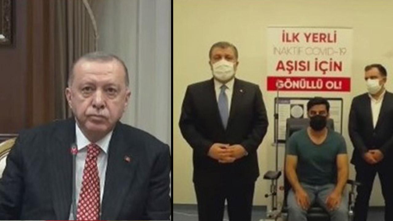 erdoğan yerli aşı