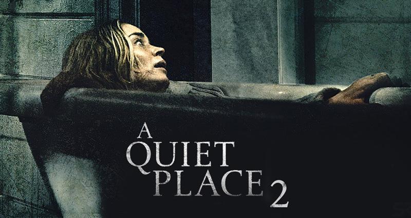 """Sessiz Bir Yer 2 - Başrolünde Emily Blunt, Cillian Murphy, Noah Jupe, Millicent Simmonds ve Djimon Hounsou'nun yer aldığı """"Sessiz Bir Yer 2"""" korku ve gerilim meraklılarını sinema salonlarına çekmeyi amaçlıyor.  John Krasinski'nin yönetmen koltuğunda oturduğu devam filmi, yaşadıkları yerde sese duyarlı yaratıklara karşı verdikleri mücadeleden sağ çıkmayı başaran bir anne ve çocuklarının hayatta kalma çabalarını konu alıyor."""