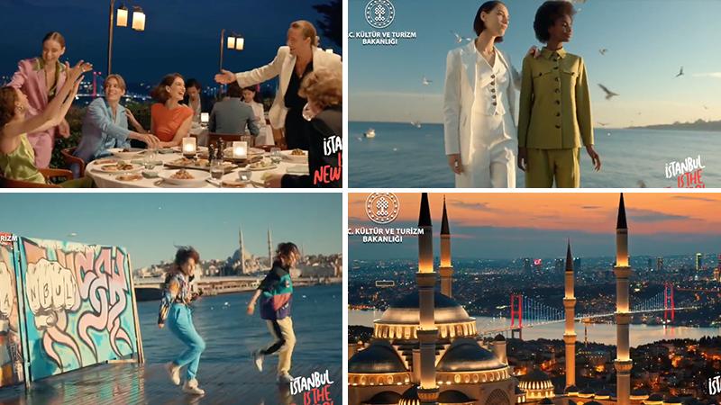 Kültür ve Turizm Bakanlığı'nın İstanbul tanıtım videosu sosyal medyanın gündeminde