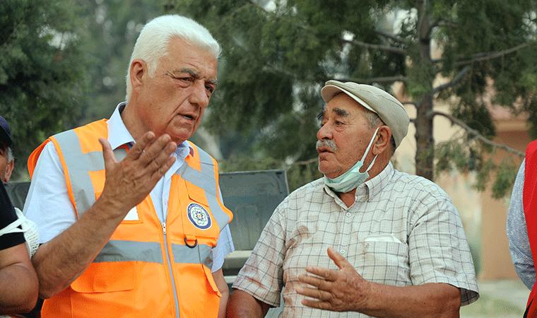 Muğla Büyükşehir Belediye Başkanı: 35 bin yurttaş tahliye edildi
