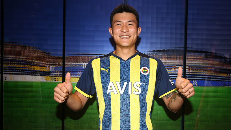 Fenerbahçe, Güney Koreli savunma oyuncusu Min-Jae Kim ile dört yıllık sözleşme imzaladı