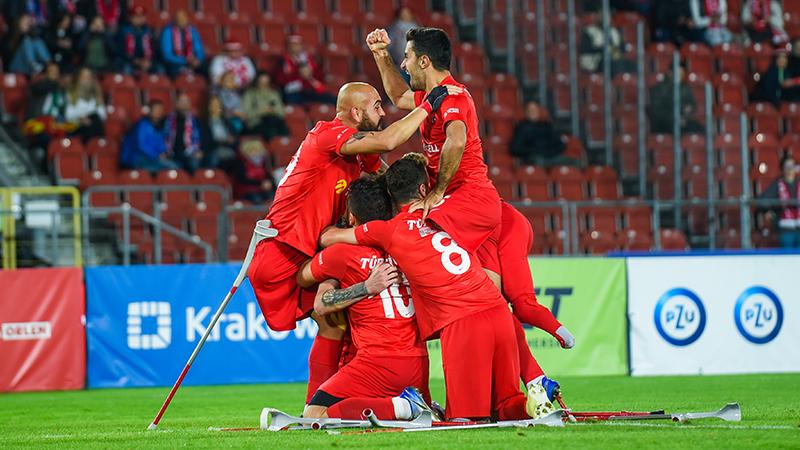 Türkiye Ampute Futbol Milli Takımı, Avrupa Şampiyonu!