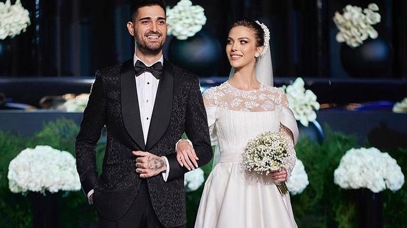 İdo Tatlıses ve Yasemin Şefkatli evlendi