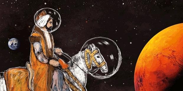 Mars'a seyahat ve Evliyâ Çelebi - K24