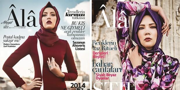 d514bbda2e3a1 Tesettürlü moda dergisi Âlâ'dan İslamcı tepkilere: Dergi kapansın diyorlar,  böyle bir faşizm olabilir mi?