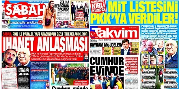 Sabah ve Takvim'in PKK'yla anlaşma imzaladığını iddia ettiği Ertuğrul: Kandil'e Star için haberci olarak gittim!