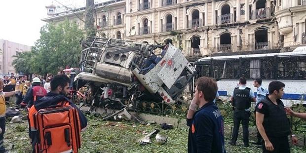 Vezneciler saldırısı canlı bomba eylemi çıktı