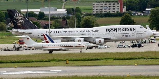 Merkel Hollande Iron Maiden