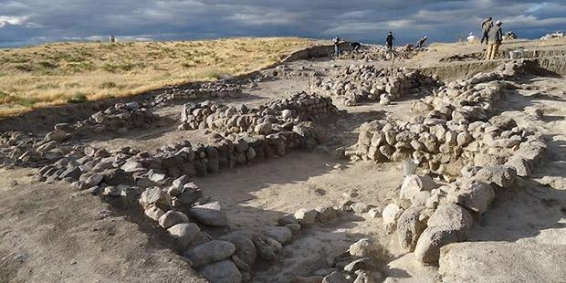 Niğde'de 2 bin 500 yıllık Pers tapınağı bulundu