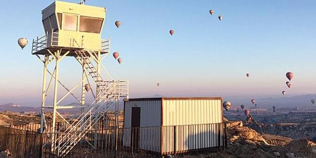 Kapadokya'daki hava trafiği kontrol kulesi 3 yıldır faaliyete geçirilemedi!