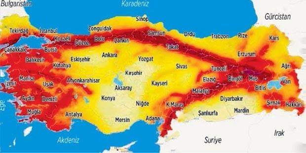 AFAD'ın deprem haritasına göre İstanbul'un hangi bölgeleri güvenli?