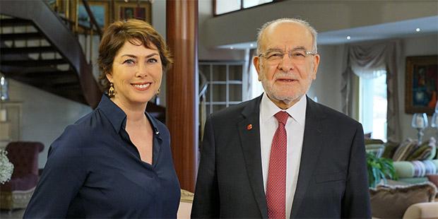 SP lideri Karamollaoğlu'ndan Şirin Payzın'a tartışma yaratacak açıklamalar